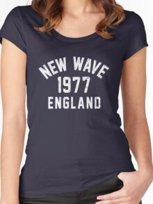 New Wave Women's Fitted Scoop T-Shirt