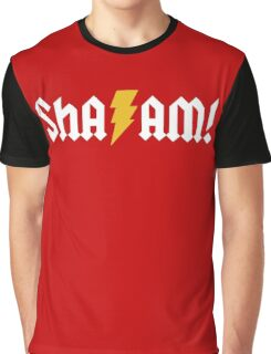 SHA/AM! (white) Graphic T-Shirt