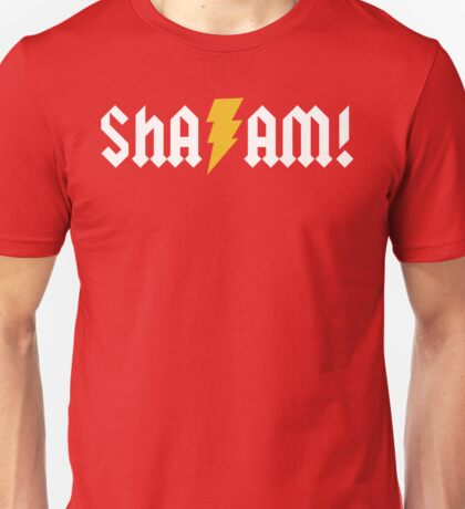 SHA/AM! (white) Unisex T-Shirt
