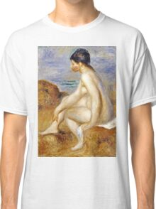 Renoir Auguste - Bather  Classic T-Shirt