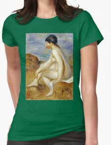 Renoir Auguste - Bather  Womens Fitted T-Shirt