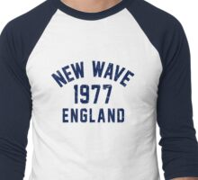 New Wave Men's Baseball ¾ T-Shirt
