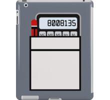 Calculator Memories iPad Case/Skin