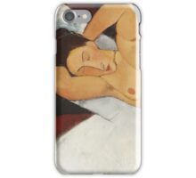 Amedeo Modigliani - Nude iPhone Case/Skin