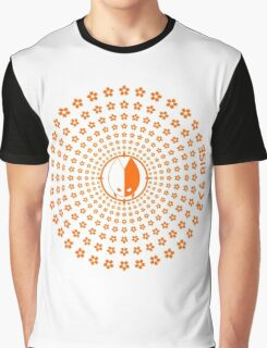Sakura Rise (Orange) Graphic T-Shirt