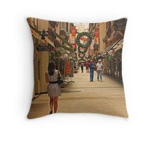 Christmas in Perth, Western Australia Throw Pillow