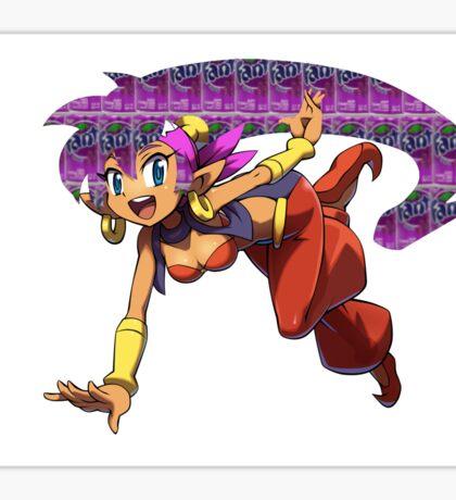 Shantae Fanta Sticker