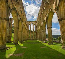 Rievaulx Abbey by Dave Hare