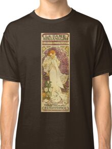 Alphonse Mucha - Lady Of The Camellias Classic T-Shirt
