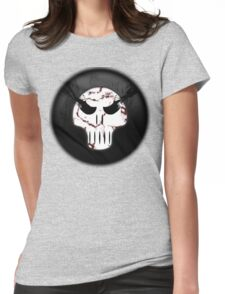 death race skull Womens Fitted T-Shirt