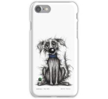 Horrible the dog iPhone Case/Skin