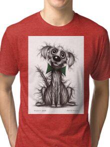 Fuzzy dog Tri-blend T-Shirt
