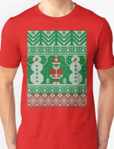 Merry Christmas and Happy New Year ornament.  Unisex T-Shirt