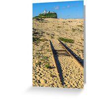 Railway to Nobbys Head Greeting Card