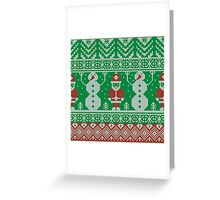 Merry Christmas and Happy New Year ornament.  Greeting Card
