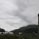 Glenfinnan Monument, Scotland by MagsWilliamson