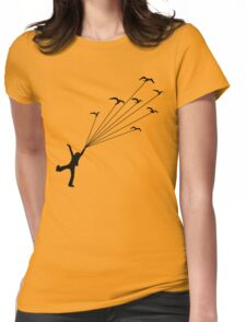 I Can Fly! Womens Fitted T-Shirt