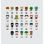 Star Wars Alphabet by Sergei Vozika
