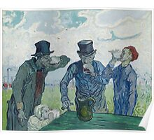 Vincent Van Gogh -  Drinkers (After Daumier), 1890 Poster