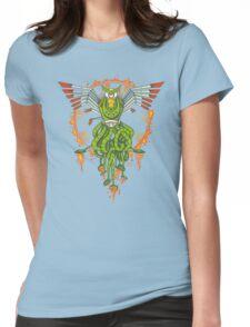 Hawktopus Womens Fitted T-Shirt