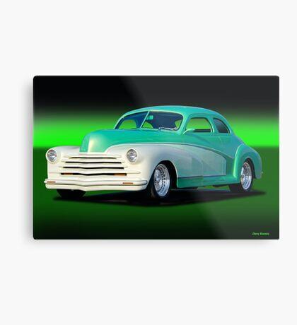 1948 Chevrolet Custom Coupe II Metal Print