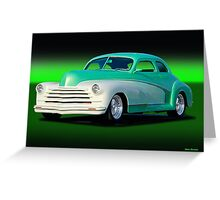 1948 Chevrolet Custom Coupe II Greeting Card