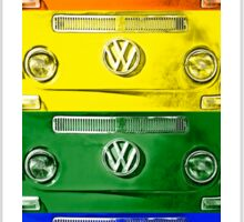 VW Rainbow Sticker