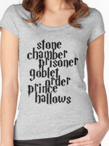 HP Books Women's Fitted Scoop T-Shirt