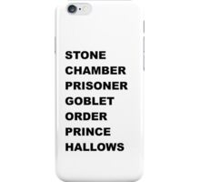 Stone, Chamber.... iPhone Case/Skin