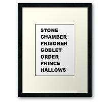 Stone, Chamber.... Framed Print