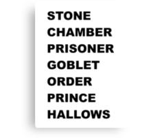 Stone, Chamber.... Canvas Print