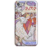 Alphonse Mucha - Amants iPhone Case/Skin