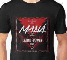 Mana Latino Power Tour 2016 Unisex T-Shirt