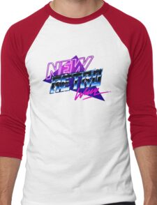 new retro wave Men's Baseball ¾ T-Shirt