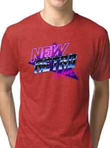 new retro wave Tri-blend T-Shirt