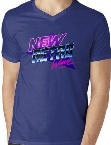 new retro wave Mens V-Neck T-Shirt