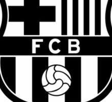 FC BARCELONA BW Sticker