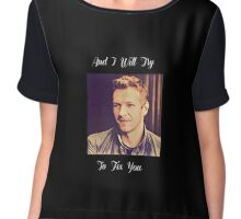 Coldplay-Fix You Lyrics Chiffon Top