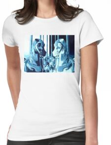 Silence And Echo Womens Fitted T-Shirt