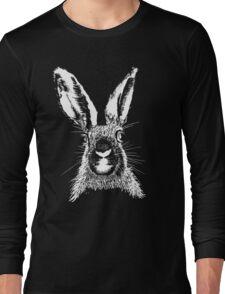 HARE WHITE T SHIRT Long Sleeve T-Shirt