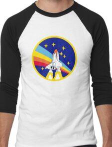Rainbow Rocket Men's Baseball ¾ T-Shirt
