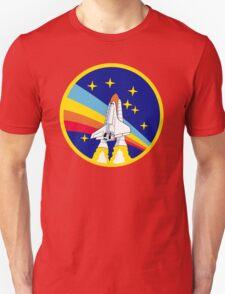 Rainbow Rocket Unisex T-Shirt