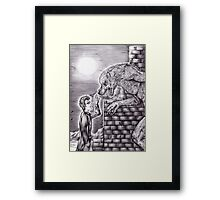 Doctor Who - Werewolf Framed Print