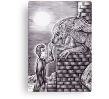 Doctor Who - Werewolf Canvas Print
