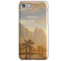 Albert Bierstadt - Valley of the Yosemite (1864)  iPhone Case/Skin