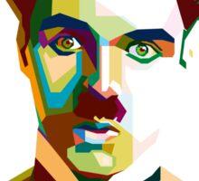 Charlie Chaplin in WPAP Art Sticker