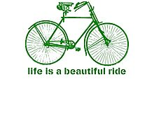 Life is a ride Photographic Print