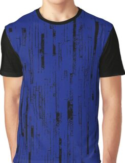 Line Art - The Bricks, black and dark blue Graphic T-Shirt