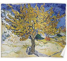 Vincent Van Gogh - Mulberry Tree, 1889 Poster
