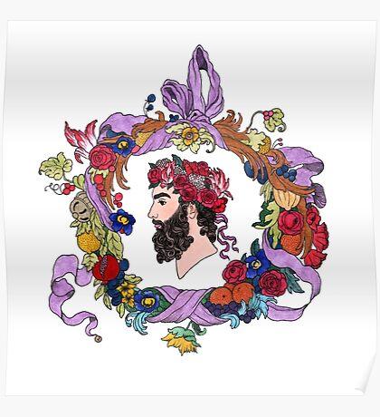 Masculine flora Poster